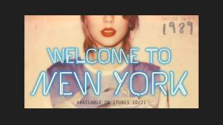 "Preview ""Welcome To New York"" by Taylor Swift"