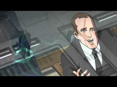 Agent Coulson from Ultimate Spidey