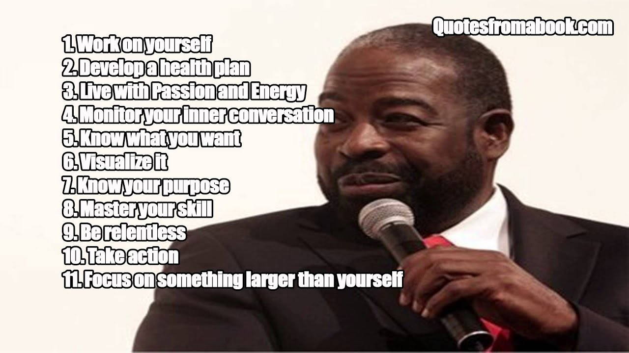 les brown 39 s 11 keys to motivation how to motivate yourself