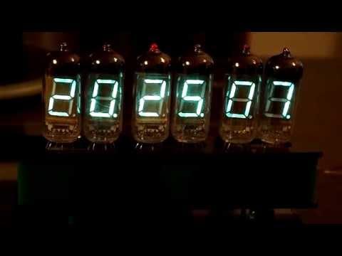 Zegarek na lampkach IW-11
