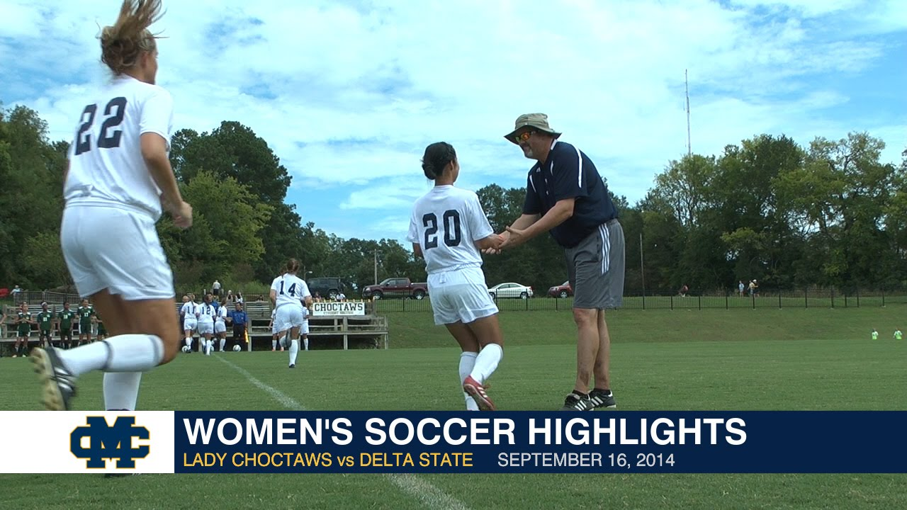 Women's Soccer Highlights: Lady Choctaws vs. Delta State ...