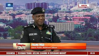 Frank Mba Urges Nigerians To Work With The Police |Sunrise Daily|