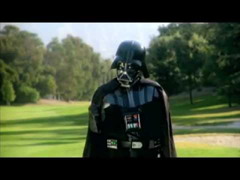 Darth Vader Plays Golf