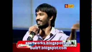 Dhanush speech at vijay awards