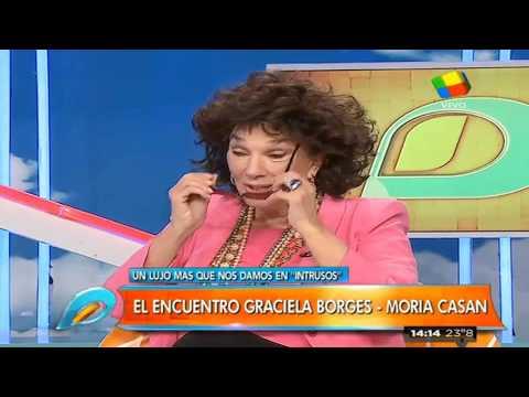 """La anécdota de la nieta de Graciela Borges con el Himno Argentino que incluye a Casán: """"O juremos con Moria morir"""""""