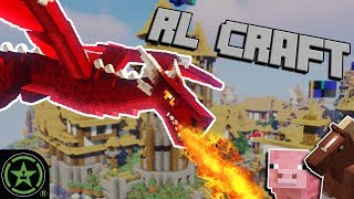 That's One Mean Dragon! - Minecraft (RL Craft) | Live Gameplay