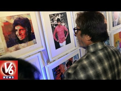 Amitabh Bachchan Launches Art Gallery Organised By His Fans In Mumbai | V6 News