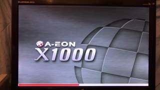 AmigaOne X1000   First Boot ever to AmigaOS 4.1 in Full HD