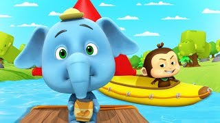River Run | Cartoons For Kids and Children | Fun Videos For Babies