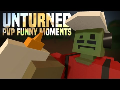 Unturned PEI PvP Funny Moments: DESTROYING PEACE WITH THE PEACEMAKER