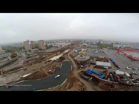 #Реконструкция Московского шоссе / пр. Кирова / сентябрь 2016 #Samara