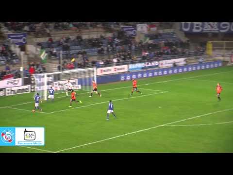 Résumé de la rencontre entre le RC Strasbourg Alsace et l'USL Dunkerque (0-0), disputée vendredi 21 novembre au Stade de la Meinau. En savoir plus : www.rcst...