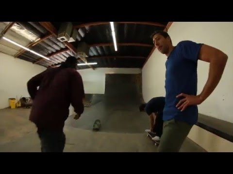 P-Rod, Mikey Taylor, Terry Kennedy and Lizard King Skate Bakerboys Warehouse