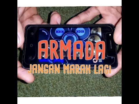 Armada - Jangan Marah Lagi ( Real drum cover )