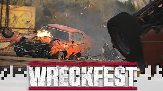 WRECKFEST -  Bus Battle! (feat. Kurt and Cone!)