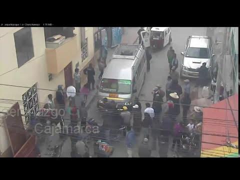 SERENAZGO CAJAMARCA - Video Vigilancia/ Accidentes/ Heridos/ 06-11-14