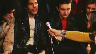 1979. Entrevista a Queen en español, Madrid, Spain - 1979 Queen Interview Freddie Mercury