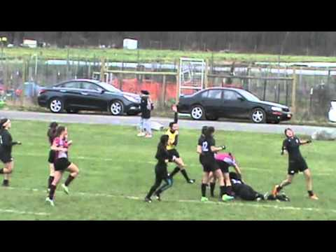 Women's Rugby Try of the Week 11-22-15