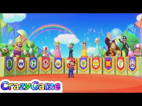 Mario Partty 10 - Credit Showcase All Characters | CRAZYGAMINGHUB