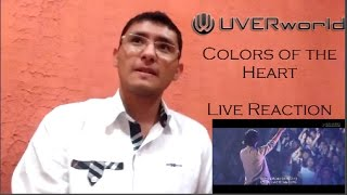UVERworld - Color of the Heart (Live Reaction)