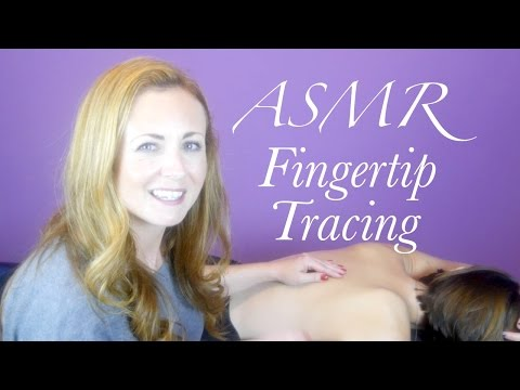 The ASMR Spa Menu #1 - Fingertip Tracing ((Binaural Massage & Back Tickling))