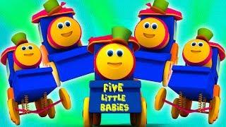 fünf kleine Babys | Bob den Zug | Bob Five Little Babies