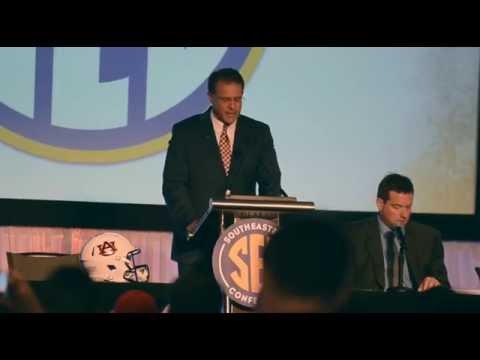 Gus Malzahn   SEC Media Days Press Conference