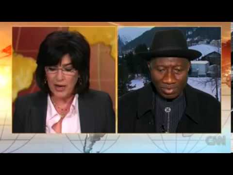 President Goodluck Jonathan on CNN- 23.01.2013