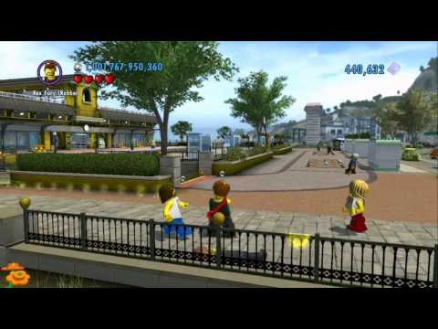 LEGO City Undercover - Painting the Town...Yellow? (Naked LEGO Minifigures)