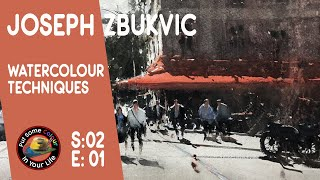 Fine art Tips with a Mind Blowing Watercolour Art Lessons with Joseph Zbukvic on Colour In your Life