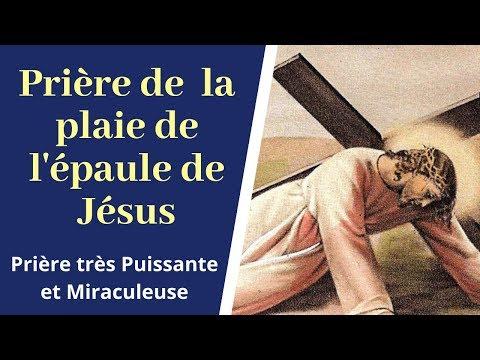 Prière de la plaie de l'épaule de Jésus - Prière miraculeuse à Jésus - Prière catholique