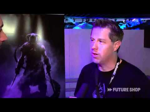 NEW - Skyrim Interview FutureShopCA [HD]