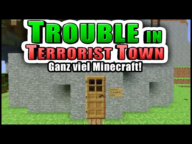 Minecraft Map, Juhu!! | Trouble in Terrorist Town! - TTT | Zombey