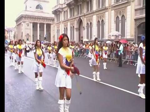 BASTONERAS ECUADOR EN MILAN 2011