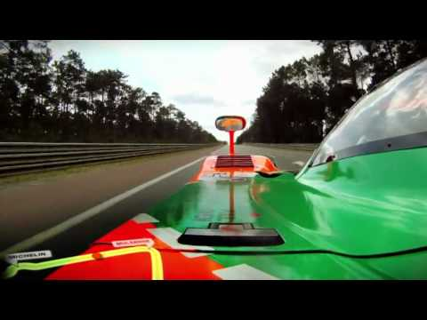 Mazda 787B onboard lap with Johnny Herbert at Le Mans 2011