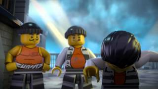 The Escape from Prison Island - LEGO City - Mini movie