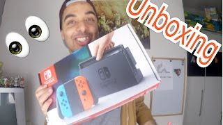 ICH HABE DIE NINTENDO SWITCH !!! | A.B.K Official | [unboxing - German]