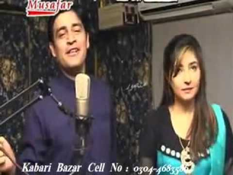Zeek Afridi And Gul Panra Film Ghaddar Song Eid Mubarak 2012 video