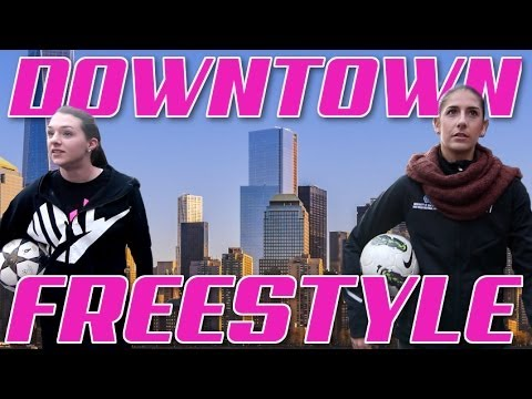 Downtown Nyc Freestyle Soccer | Indi Cowie And Yael Averbuch | Part 2 video