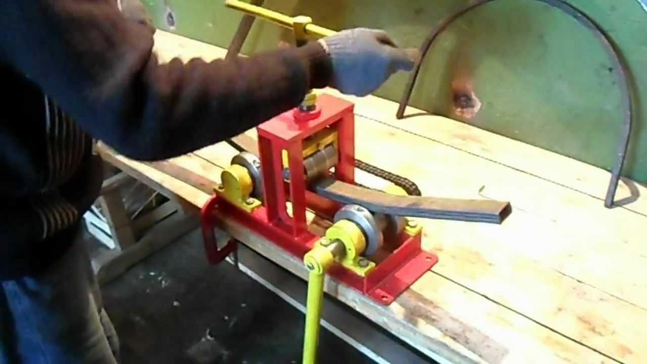 Электрический трубогиб своими руками