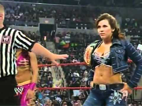 Tara & Natalya vs. Mickie James & Melina // WWE-RAW // June 23, 2008