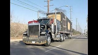 Truckin For Kids 2017 trucks leaving part 1