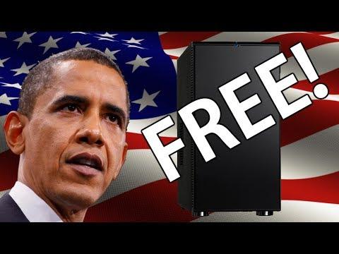 Obama Shows You: How To Make A Super Computer