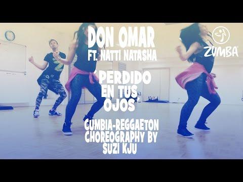 Don Omar ft. Natti Natasha - Perdido En Tus Ojos - Zumba®Fitness Cumbia/Reggeaton