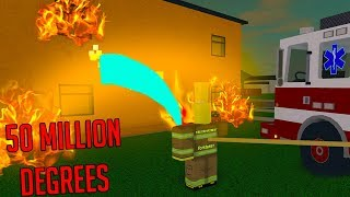 ROBLOX FIREFIGHTING SIMULATOR *FIRE IS BAD!*