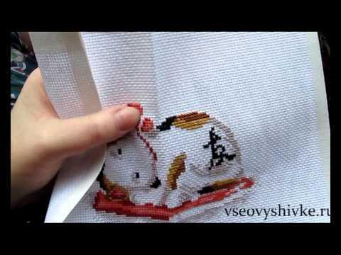Видеоуроки: как правильно вышивать бисером - Наборы для.  Видео-урок от Энн Бенсон. .  Вышивка бисером по канве. .