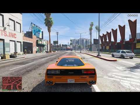 GTA 5 - Five Star Escape + Defeating Gang Hideout