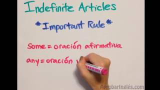 LEVEL 1 - VIDEO 4: Prepositions of time and place; Indefinite and definite articles.