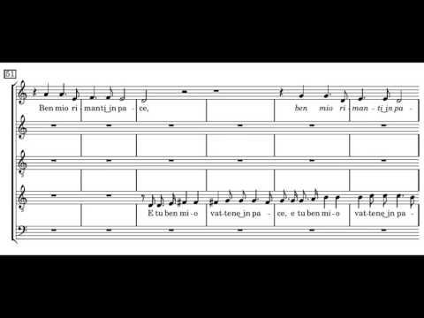 Монтеверди Клаудио - A Dio, Florida Bella