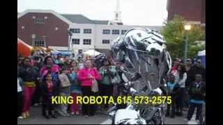 KING ROBOT The Greatest Robot Entertainment